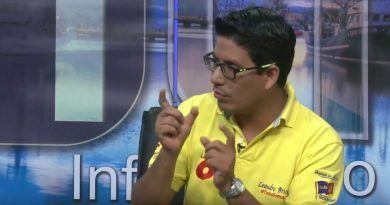 Leandro Briones militante Social Cristiano