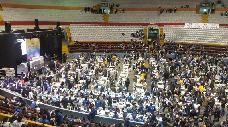 CNE reconteo Ecuador