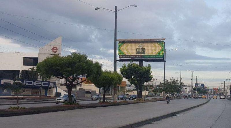 valla de toquilla en Guayaquil