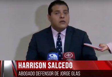 Defensa de Jorge Glas compara con el caso de Pamela Martínez
