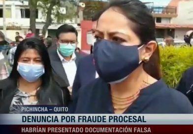 Paola Pabón contraataca legalmente a la Fiscalía y Policía