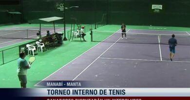 Se activan los torneos de tenis en la ciudad de Manta