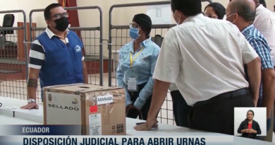 Emiten orden judicial para apertura de urnas en Manabí